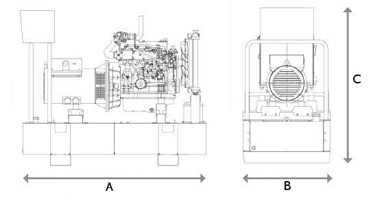 Himoinsa Doosan Hdw 750 T5 Diesel Generator Hire Ipswich