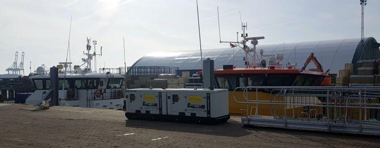 diesel generator hire suffolk off-shore