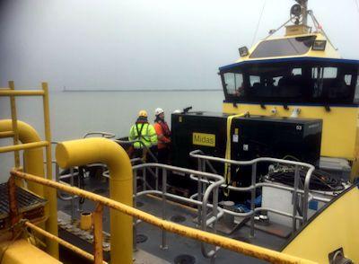 diesel generator hire suffolk marine