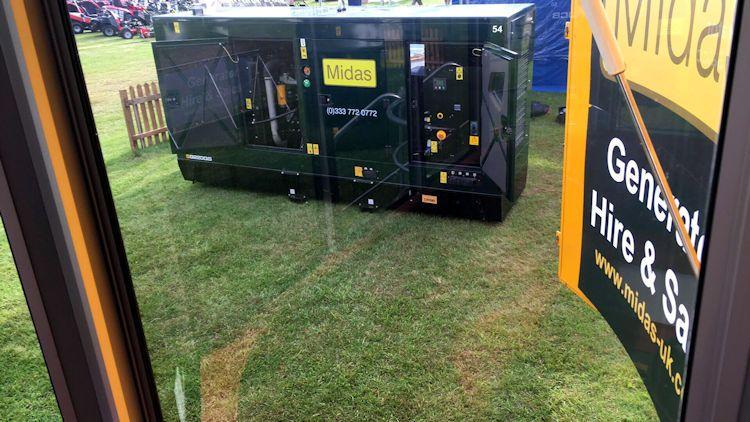 diesel generator hire suffolk show